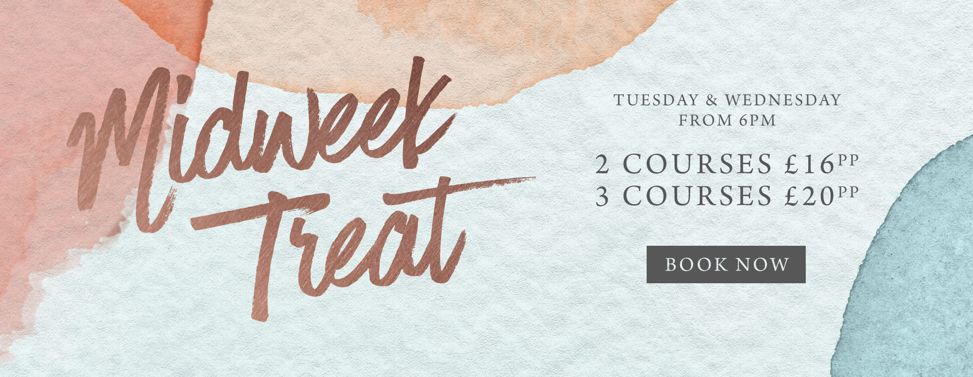 Midweek treat at The Red Lion - Book now